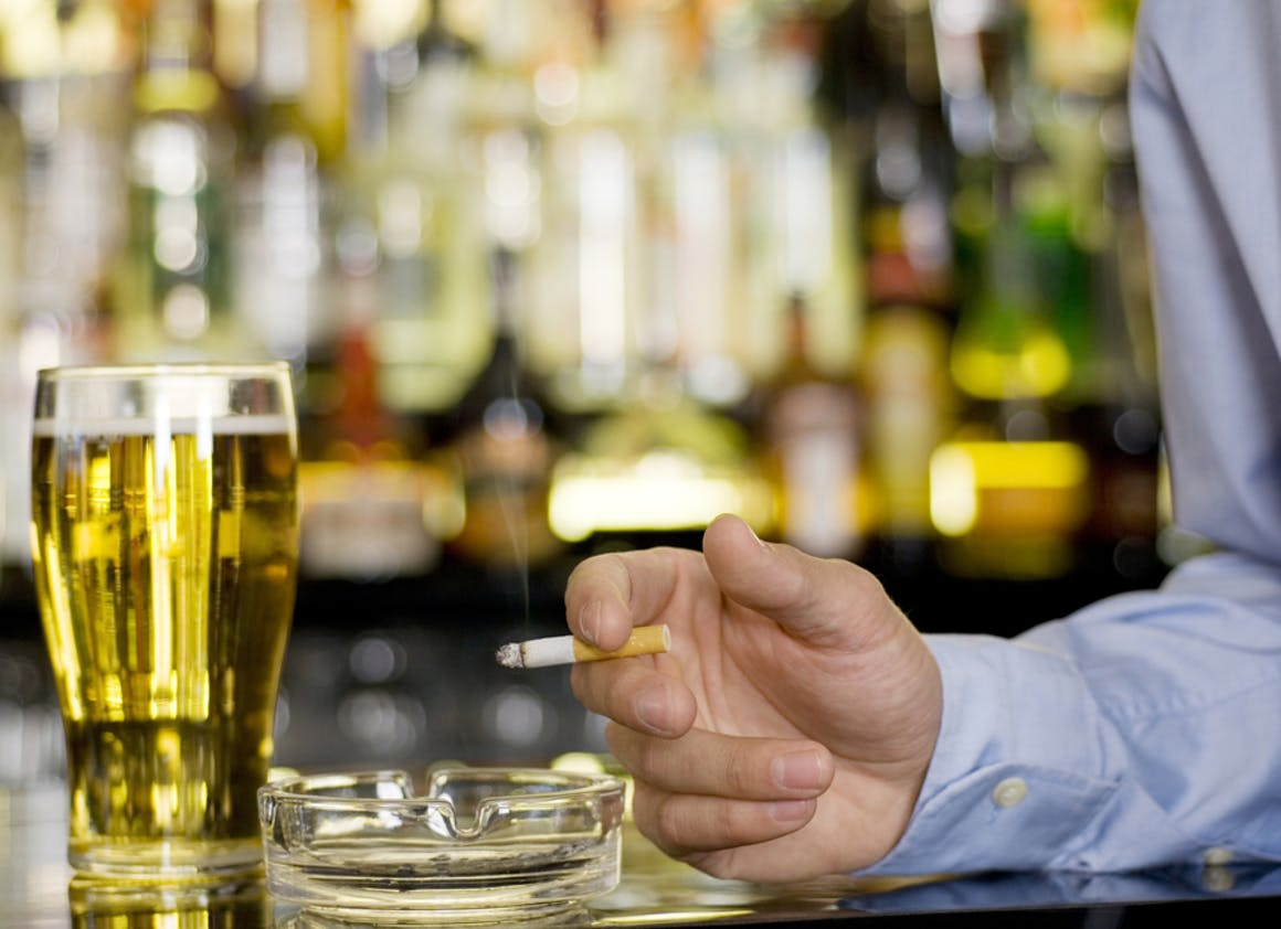 Bannissez alcool et cigarettes