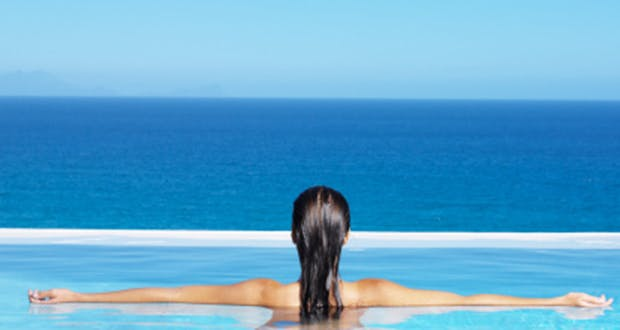 Les pieds dans l'eau, idéal pour entretenir sa puissance de contraction musculaire