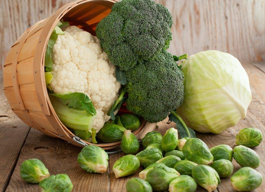 Les choux, riches en vitamines et à l'effet coupe-faim