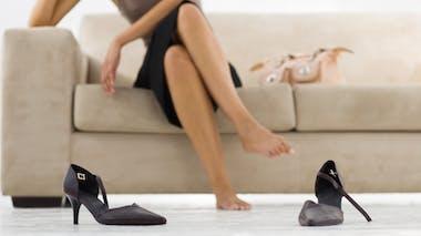 Les chaussures : à ne pas porter chez soi