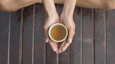 Je préfère le thé au café