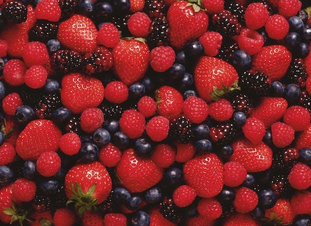 Je profite de la saison des fruits rouges