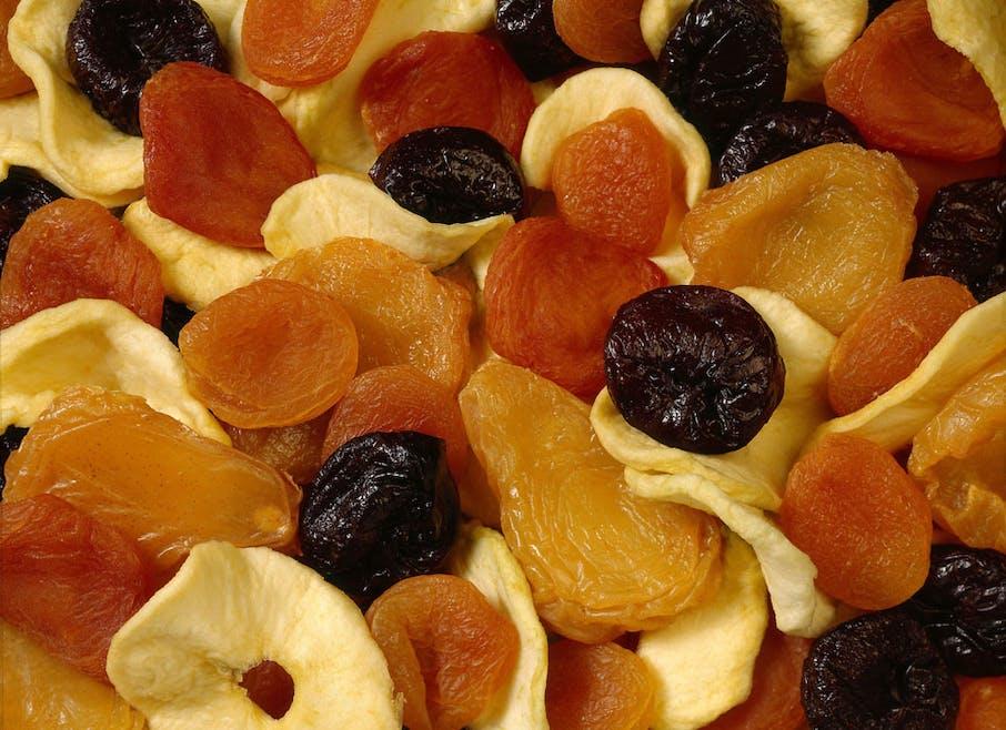 Réhabiliter les fruits séchés