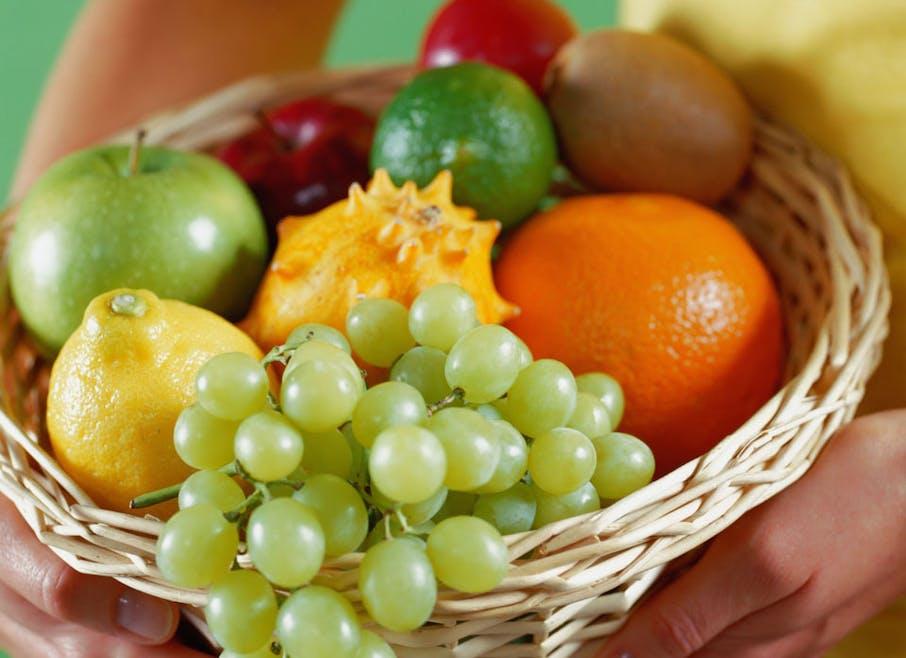 Je choisis toujours des fruits bien mûrs