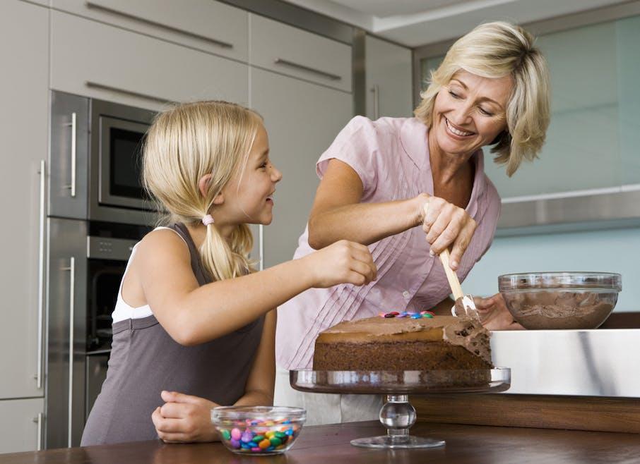 Je fais moi-même mes gâteaux