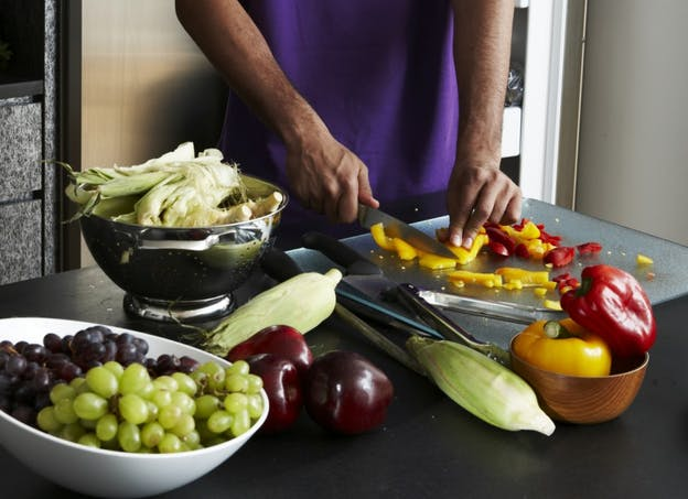Je prévois des fruits et/ou des légumes à chaque repas