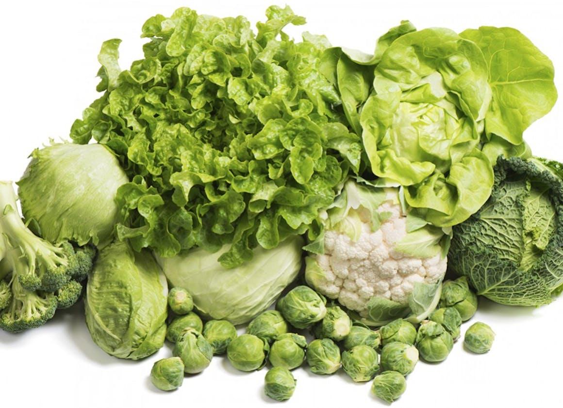 Je pense aux légumes verts