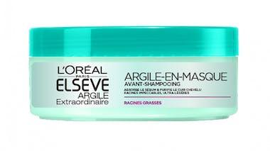 ELSEVE ARGILE EXTRAORDINAIRE Argile-en-masque Avant-shampooing L'ORÉAL PARIS