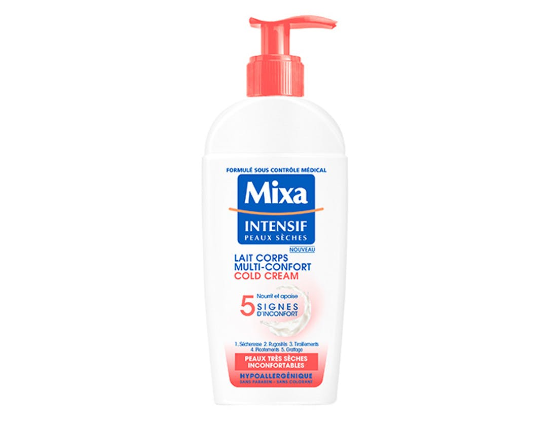 Lait Corps Multi-Confort Cold Cream - MIXA