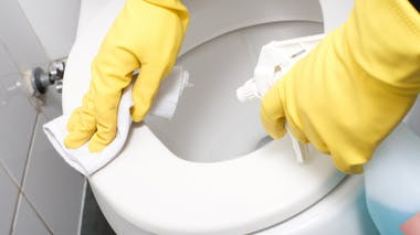 Les toilettes : lavage des mains systématique
