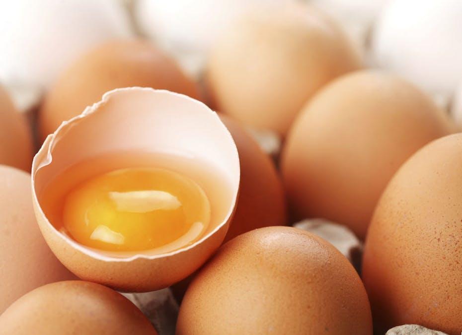 Je casse les œufs