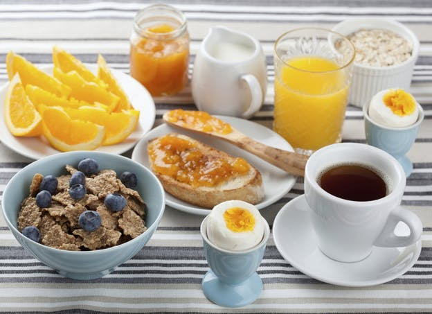 Je maintiens un petit déjeuner