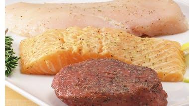 Je consomme viande ou poisson chaque jour