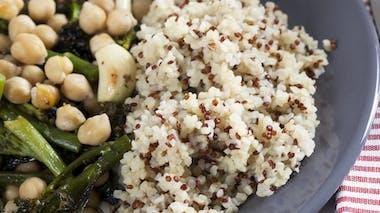 Pensez aux plats végétariens tout prêts