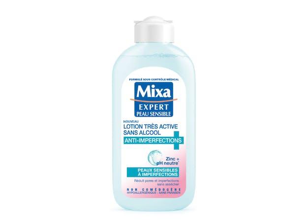 Lotion Très Active Sans Alcool Anti- Imperfections - MIXA