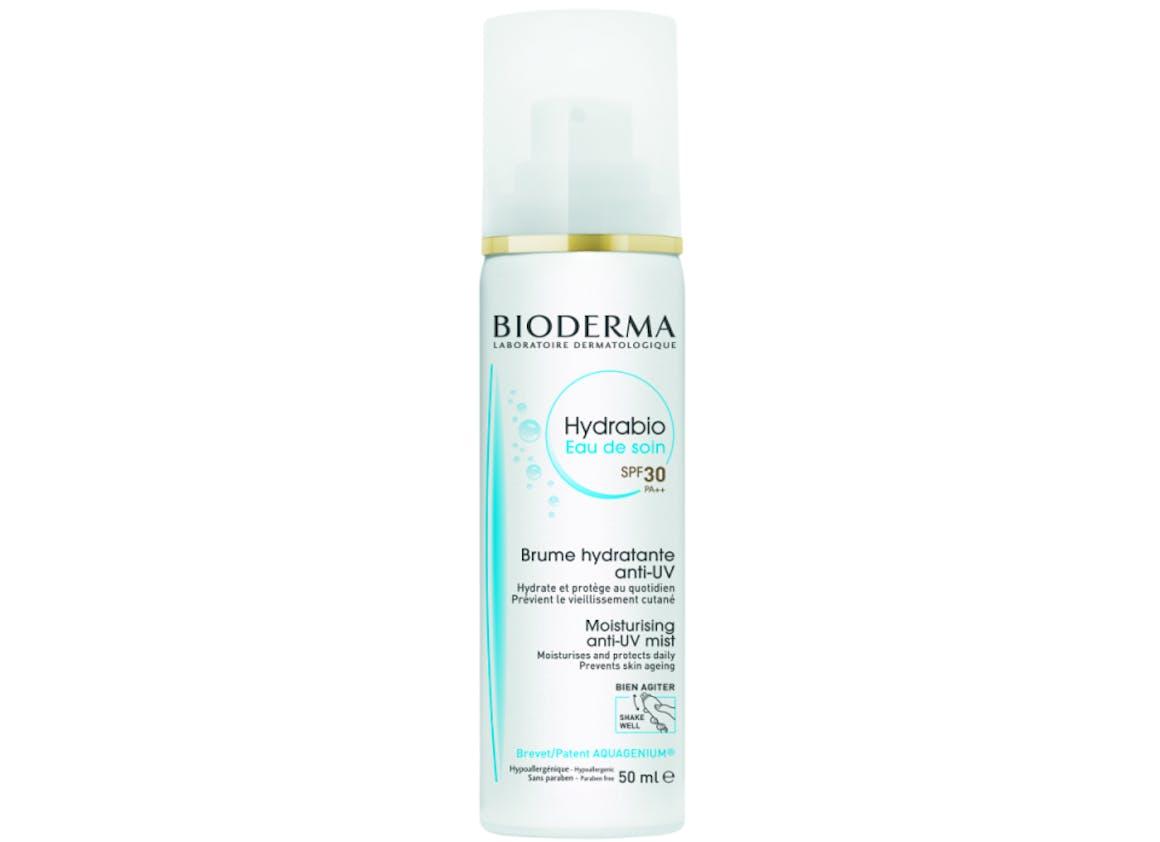 Hydrabio Eau de Soin spf 30 PA++. Brume Hydratante anti-UV - BIODERMA