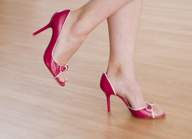 La bonne posture si vous marchez sur des talons