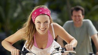 Affinez-vous du bas avec le vélo