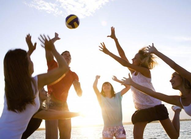 Améliorez votre adresse avec le volley-ball