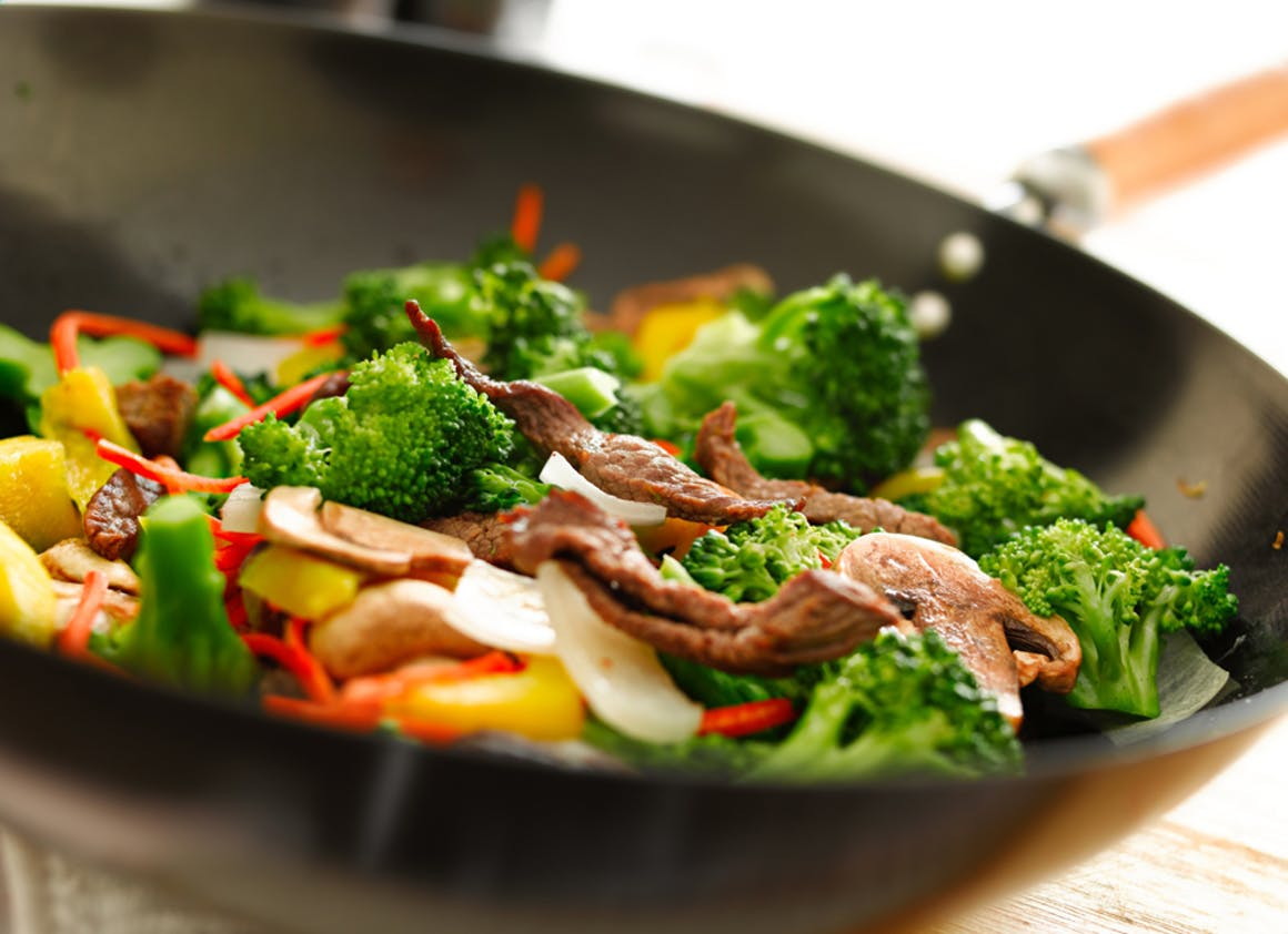 Au wok, sympa mais attention au gras