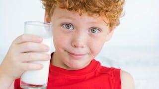 Mon enfant est allergique au lait de vache