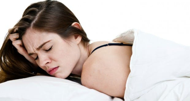 Spasme quand on dort