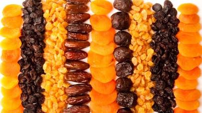 Que savez-vous sur les fruits et légumes secs?