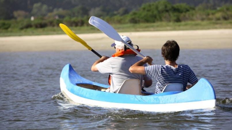 Musclez le haut du corps en canoë, kayak ou rafting