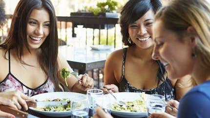 Manger au restaurant lorsqu'on surveille sa ligne