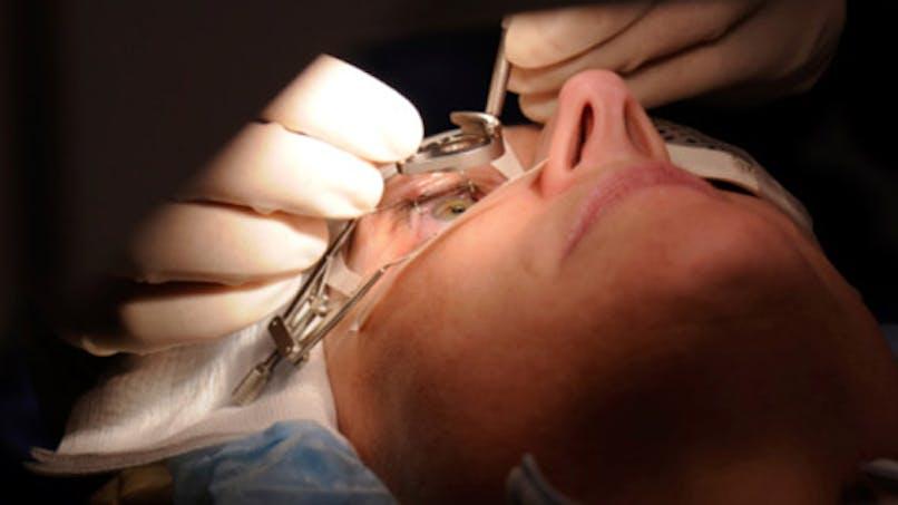 Greffe de cornée: de nouveaux espoirs