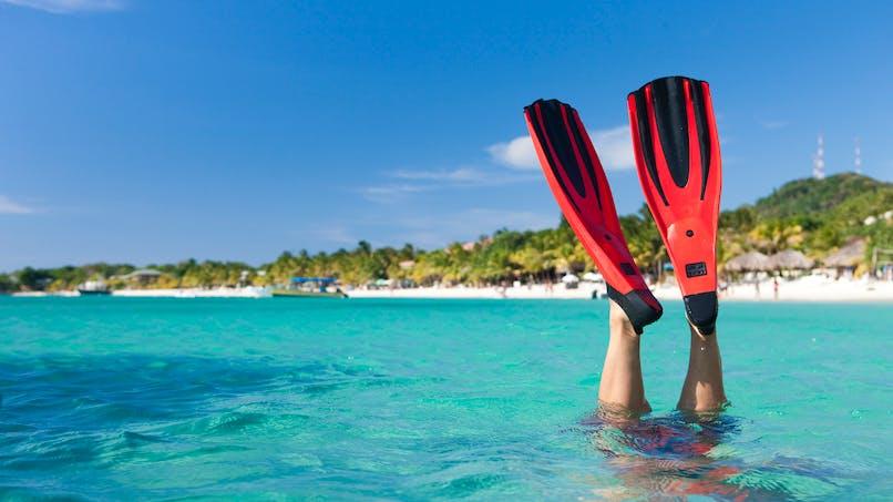 A la mer, musclez-vous avec des palmes!
