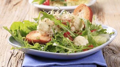 Quelle composition pour une salade équilibrée?