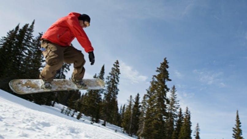 Sports d'hiver: attention aux chutes!