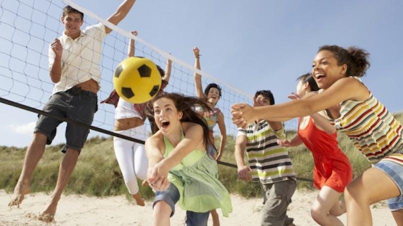 Faire du sport sur la plage, ça muscle!