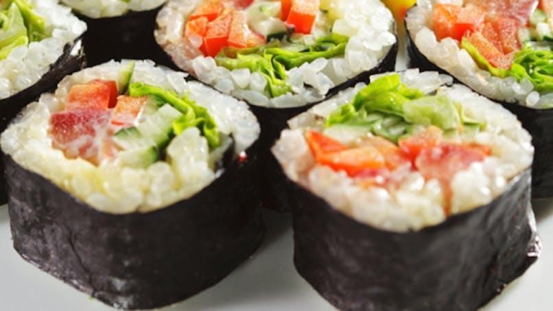 Les sushis, c'est pas bon pour le cerveau!