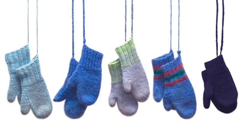 Contre le froid: des moufles ou des gants?