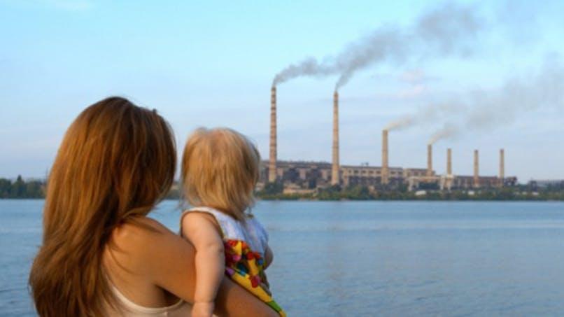 La pollution, c'est mauvais pour le fœtus