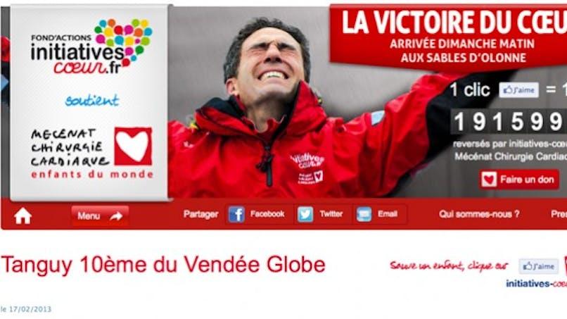 Vendée Globe: un skipper qui a du cœur