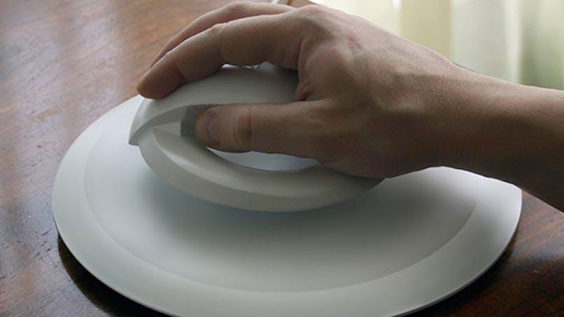 Une souris d'ordinateur contre le syndrome du canal carpien