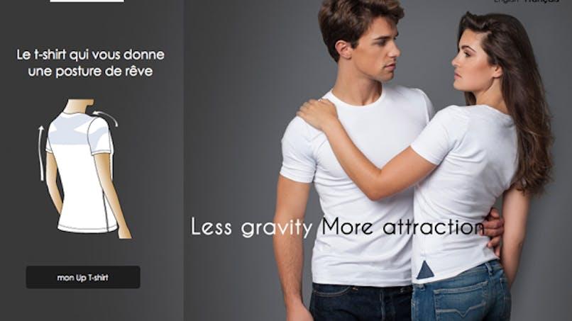 Un tee-shirt pour se tenir bien droit