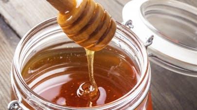 Miel pour calmer la toux