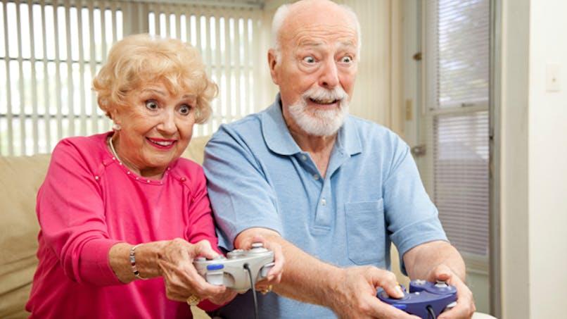 Les jeux vidéo boostent le cerveau des seniors