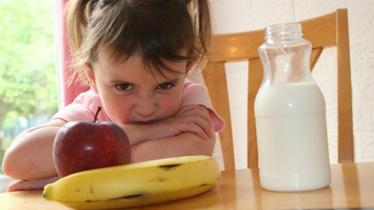 Phobies alimentaires chez l'enfant, comment réagir?