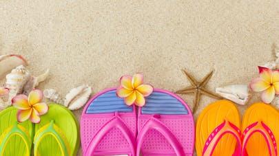 En été, il faut changer de chaussures tous les jours
