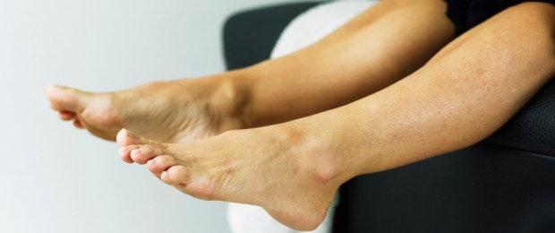 sensation de chaleur dans une jambe