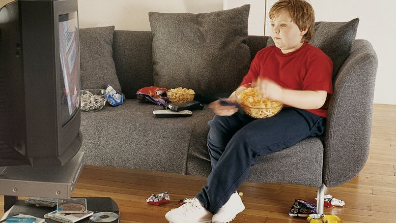 Contre l'obésité infantile, limitez la télé