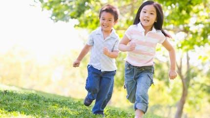 Les enfants d'aujourd'hui courent moins vite que leurs aînés