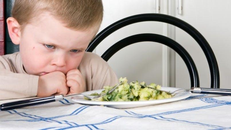 Votre enfant n'aime pas les légumes verts, c'est normal