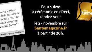 17e édition du Prix Santé Magazine Beauté Santé