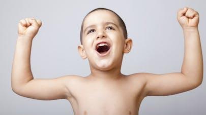 La vitamine D muscle les enfants